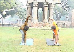 Yoga Practice in New Delhi