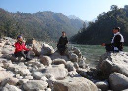 Meditation at The Ganges