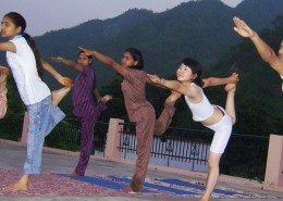 Yoga Practice by YSI team and Clients