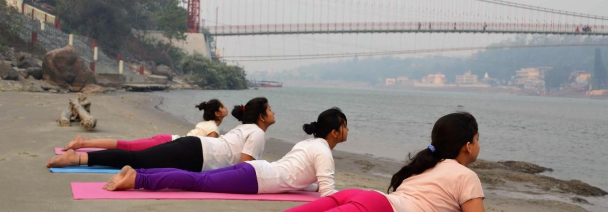 Yoga Holiday in Rishikesh